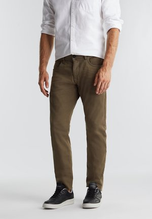 Trousers - dark khaki