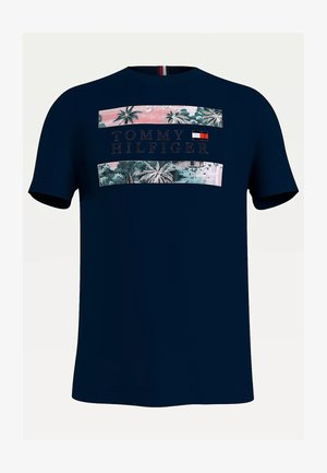 HAWAIIAN FLAG - Print T-shirt - desert sky
