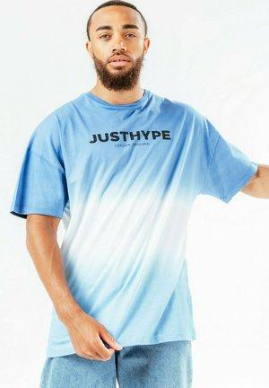 DIP DYE - T-shirt print - blue