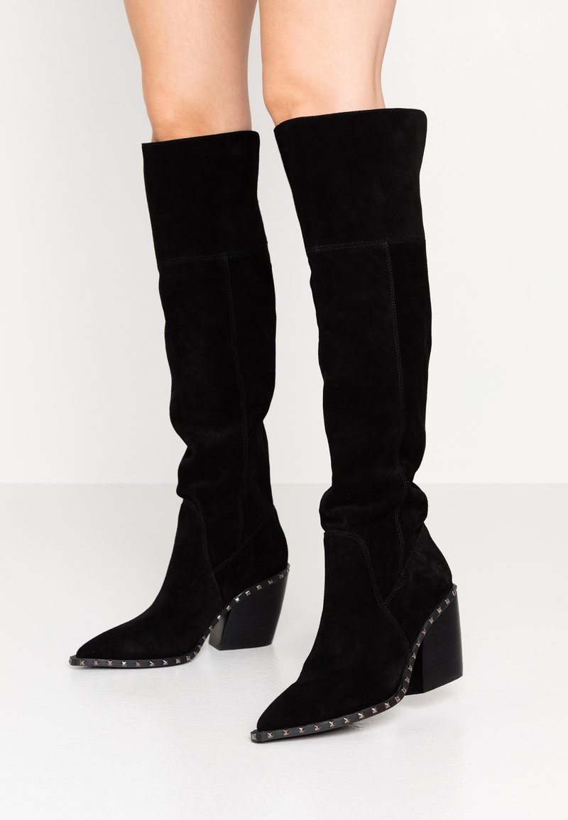 Alma en Pena - Over-the-knee boots - black
