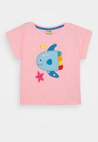 Frugi - SOPHIA SLUB FISH - Print T-shirt - soft pink - 0