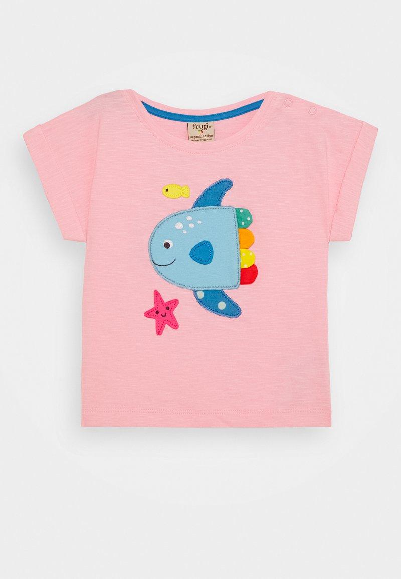 Frugi - SOPHIA SLUB FISH - Print T-shirt - soft pink