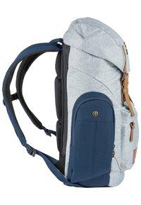 Nitro - DAYPACKER - Backpack - grey, blue - 2
