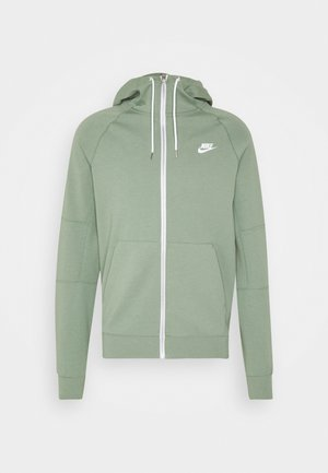 MODERN HOODIE - Zip-up hoodie - spiral sage/ice silver/white