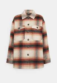 Pieces - PCCARLENE SHACKET - Summer jacket - aragon/birch/black - 0