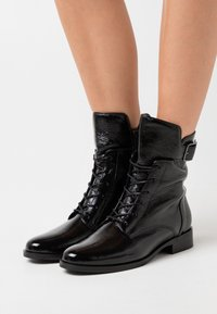 Gabor Comfort - Lace-up ankle boots - schwarz - 0