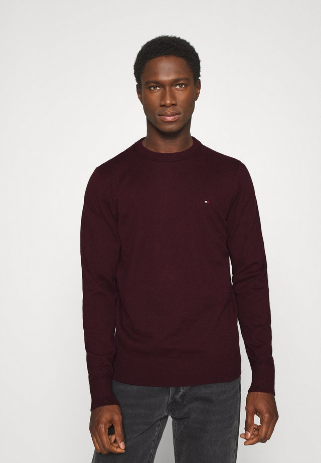 PIMA CREW NECK - Sweter - red