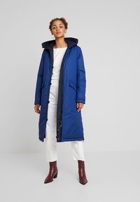 Marc O'Polo - BIG PUFFER COAT PADDED REVERSIBLE - Winter coat - midnight blue - 3