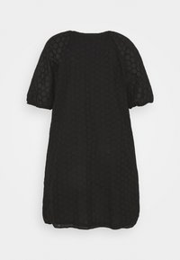 ONLY Carmakoma - CARAGATA 2/4 DRESS - Day dress - black - 1