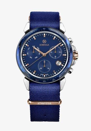 LEWY SWISS - Chronograph watch - blau