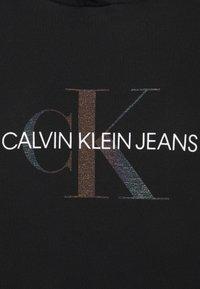 Calvin Klein Jeans - REFLECTIVE MONOGRAM HOODIE - Mikina - black - 2