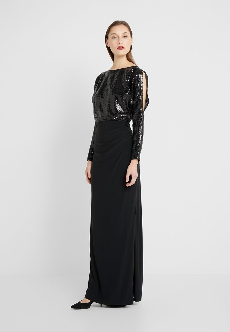 Lauren Ralph Lauren - CLASSIC GOWN  - Vestido de fiesta - black