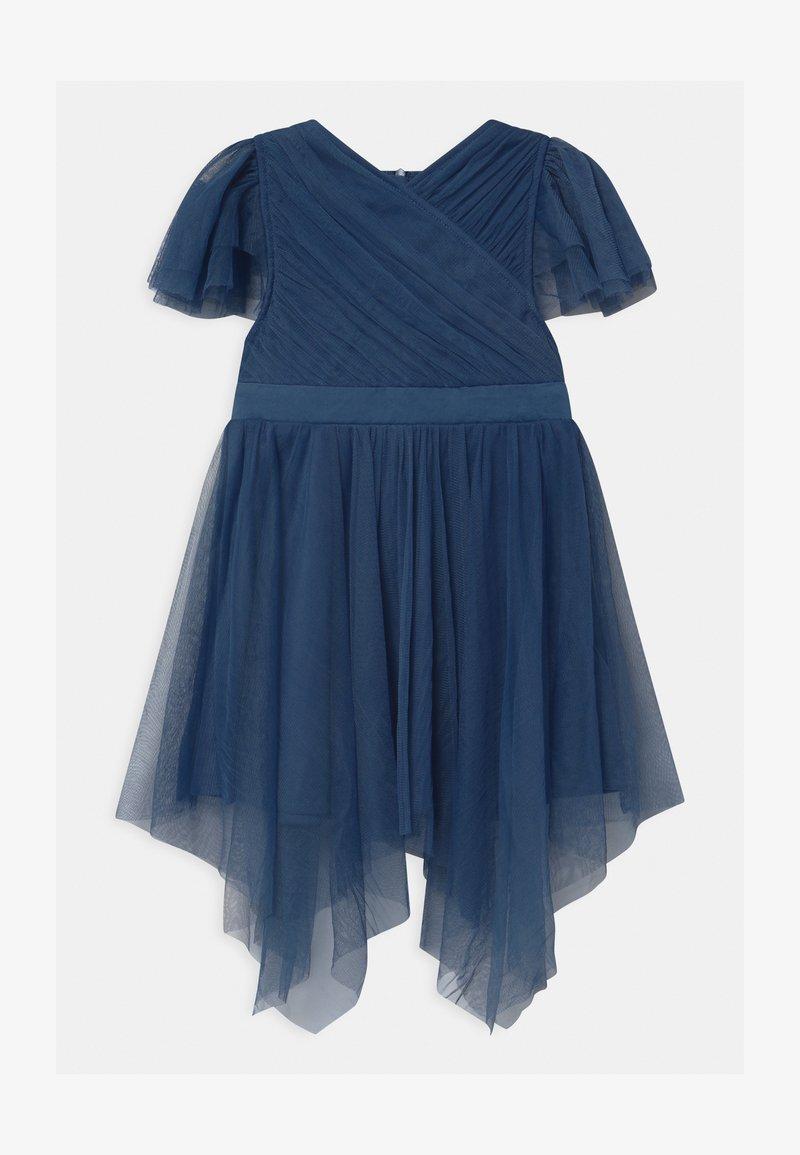 Anaya with love - WRAP HANKY HEM - Koktejlové šaty/ šaty na párty - indigo blue