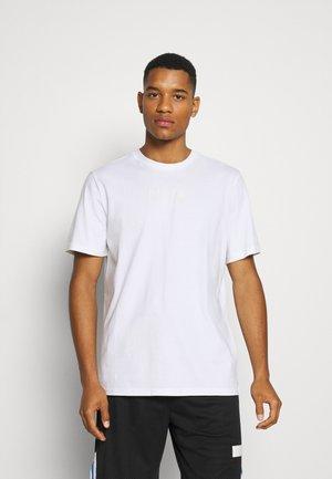 PARQUET STREET GRAPHIC TEE - T-shirt imprimé - white