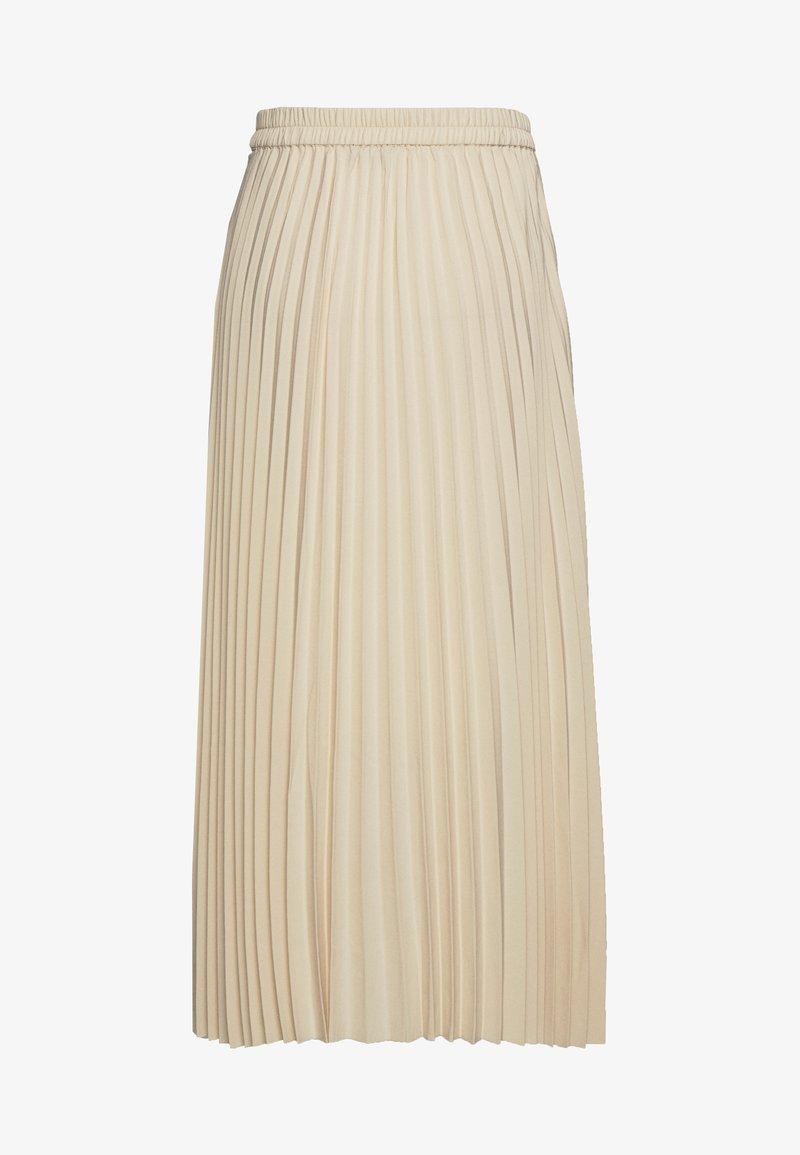 Selected Femme - SLFALEXIS SKIRT - A-line skirt - sandshell