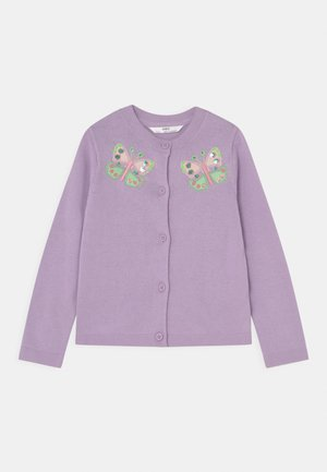 BUTTERFLY - Cardigan - lilac