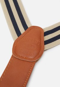 Shelby & Sons - PHILLY BRACES - Belt - beige/navy - 2