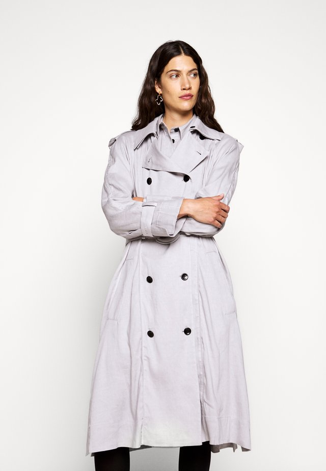 BLEND BELTED - Trench - grey