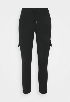 NMSEJLA - Tracksuit bottoms - black