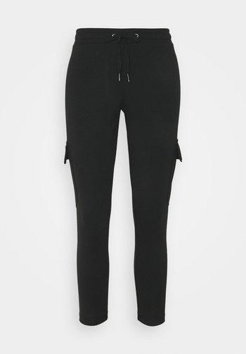NMSEJLA - Teplákové kalhoty - black