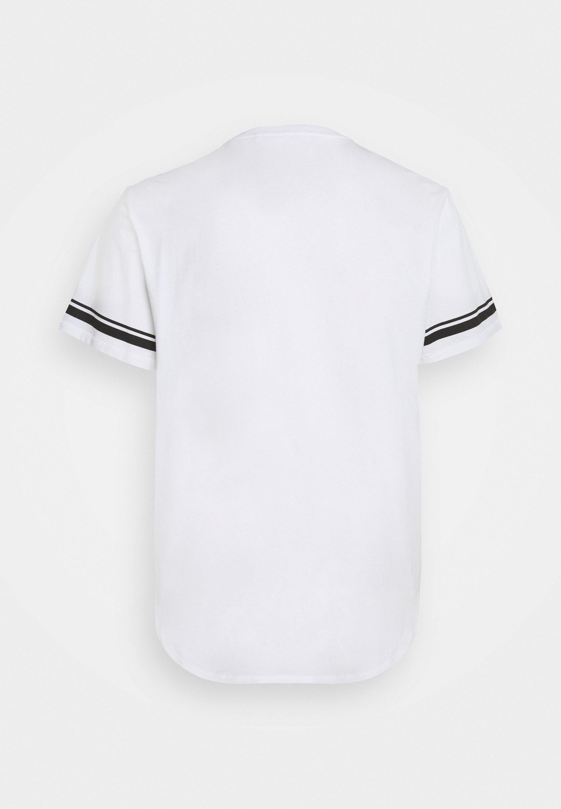 Men ONSMATT LIFE LONGY STRIPE   - Print T-shirt