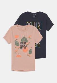 Name it - NKFVIX 2 PACK - T-shirt print - peach whip - 0