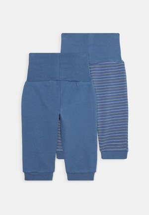 2 PACK - Trousers - blue