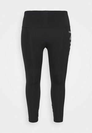 AIR EPIC FAST 7/8 - Leggings - black/silver