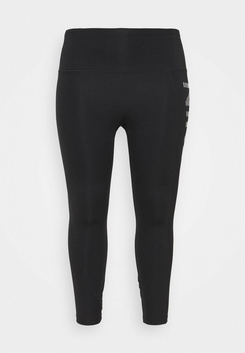 Nike Performance - AIR EPIC FAST 7/8 - Leggings - black/silver