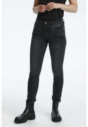 AMALIE SHAPE - Slim fit jeans - black wash
