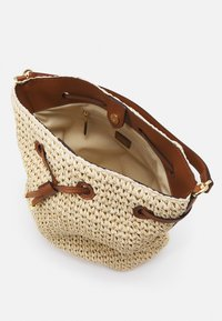 Lauren Ralph Lauren - CROCHET DEBBY - Handbag - natural/tan - 4