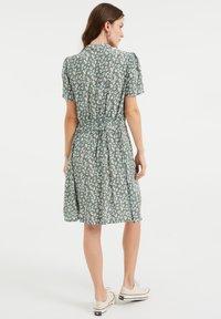 WE Fashion - Shirt dress - light green - 1