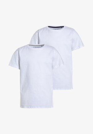 SHORT SLEEVE 2 PACK  - Triko s potiskem - white