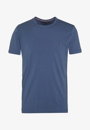 SLIM FIT TEE - Printtipaita - blue