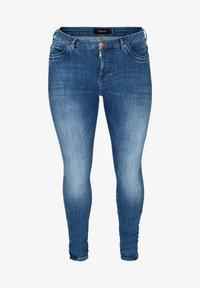 Zizzi - AMY  - Slim fit jeans - blue - 2