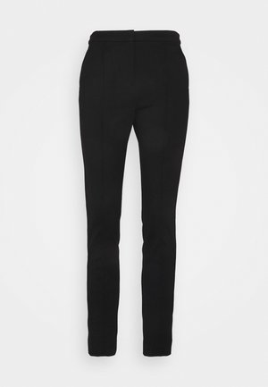 SUMMER PUNTO PANTS - Pantalon classique - black