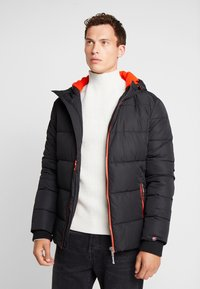 Superdry - SPORTS PUFFER - Winterjas - jet black - 2