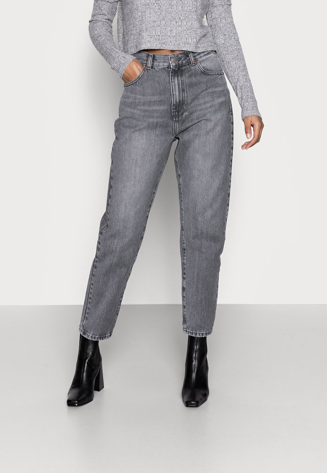 NORA - Jeans baggy - washed grey