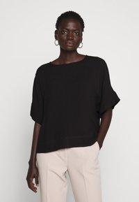 Bruuns Bazaar - HALAH NINI BLOUSE - Blouse - black - 0