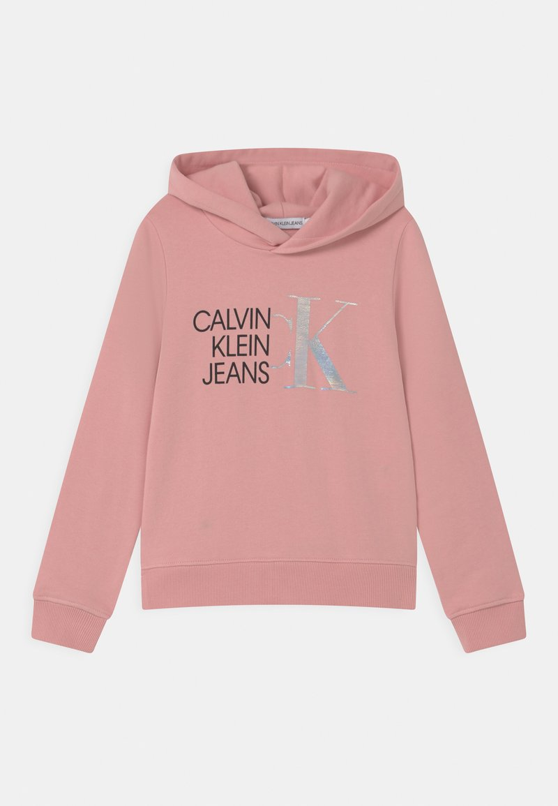 Calvin Klein Jeans - HYBRID LOGO HOODIE - Sweat à capuche - pink