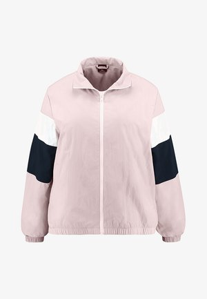 LADIESCRINKLE TRACK  - Windbreaker - darkrose/navy/white
