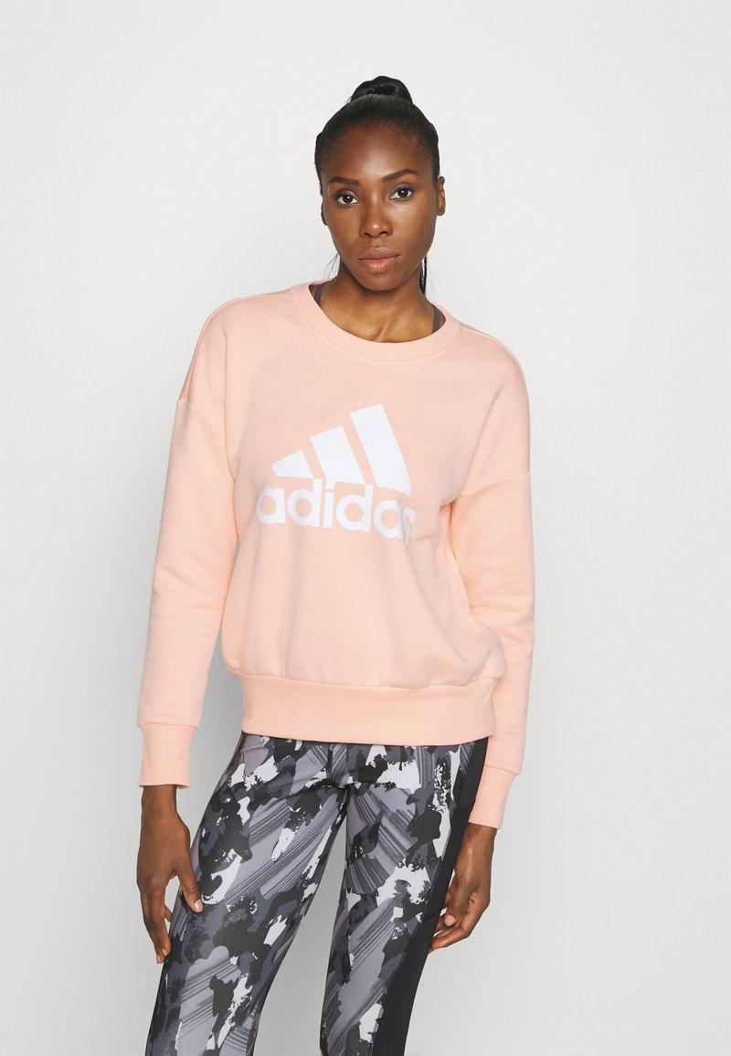 adidas Performance - BOS CREW - Sweatshirt - hazcor