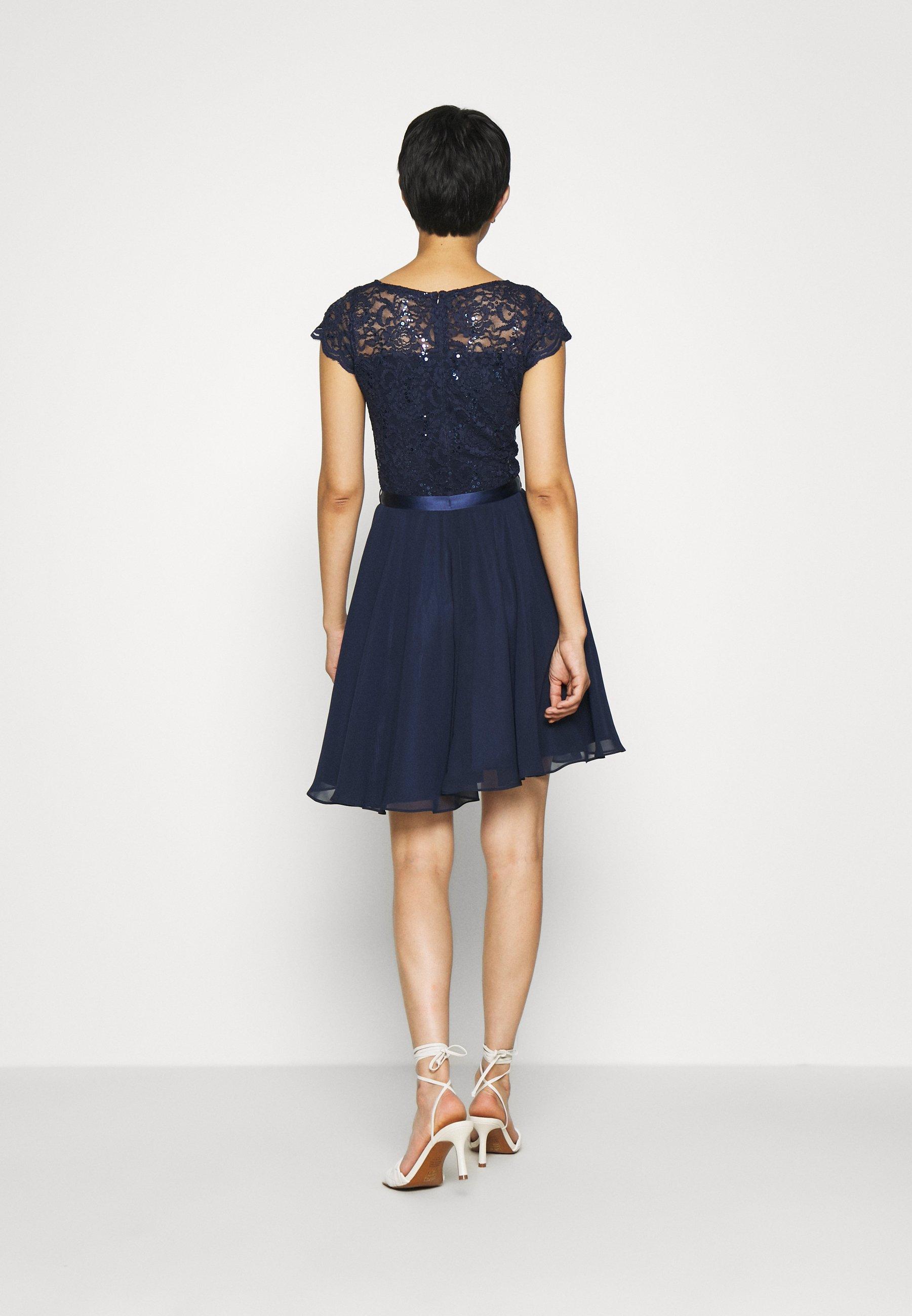 Swing DRESS Cocktailkleid/festliches Kleid marine/dunkelblau