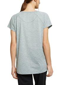 Esprit Sports - MIT E-DRY - Sports shirt - dusty green - 4