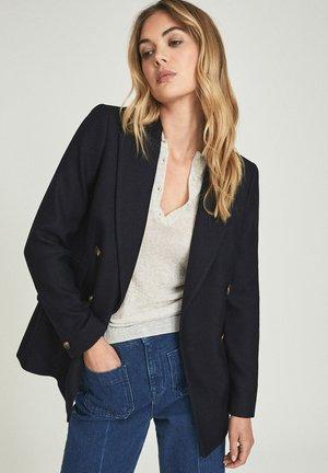 LOGAN - Halflange jas - navy blue