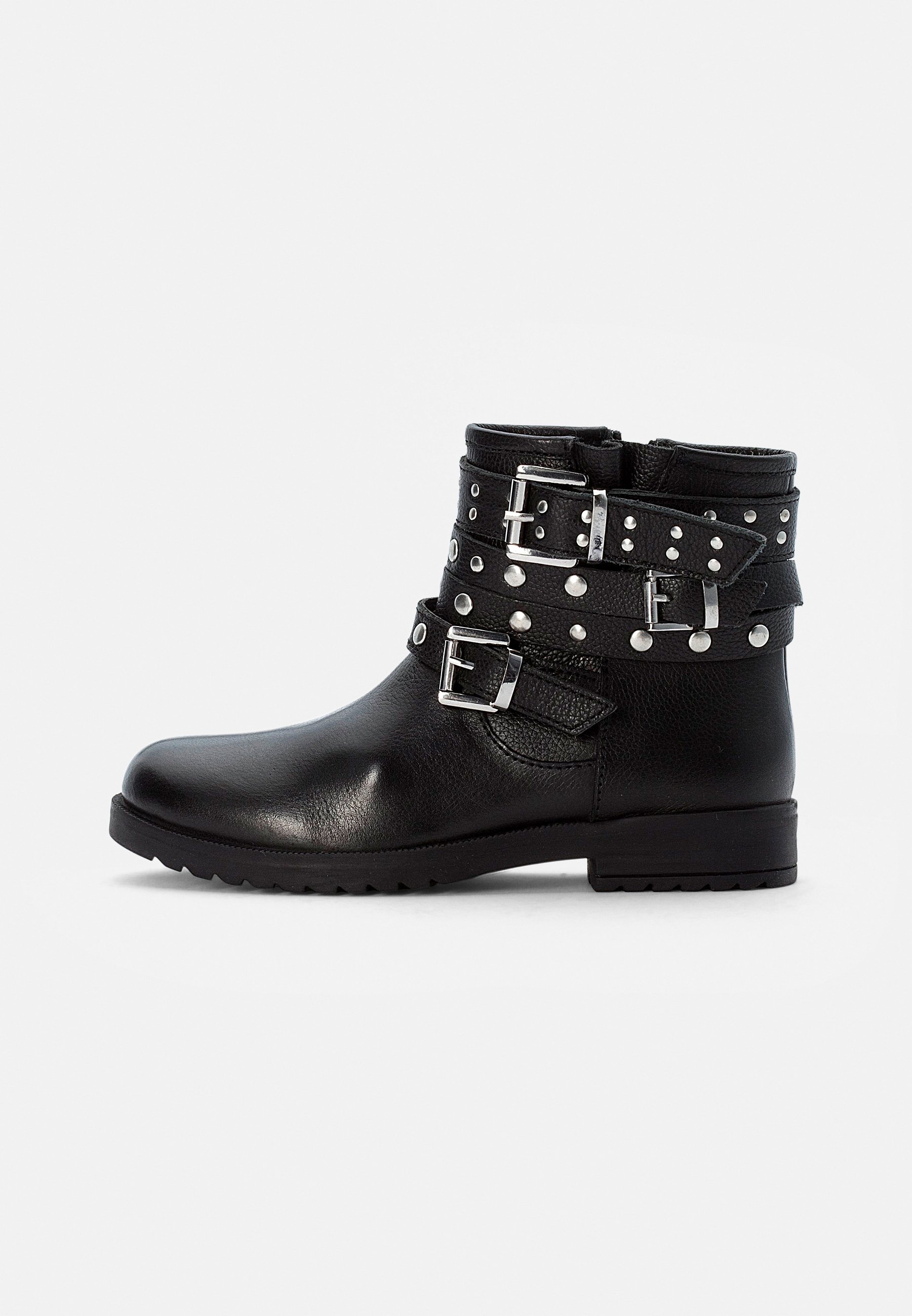 Kids LEATHER BOOTIES - Cowboy/biker ankle boot