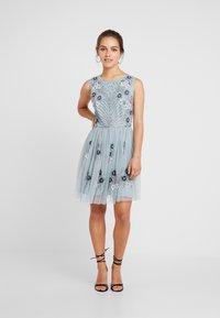 Lace & Beads Petite - NARA SKATER - Koktejlové šaty/ šaty na párty - teal - 1