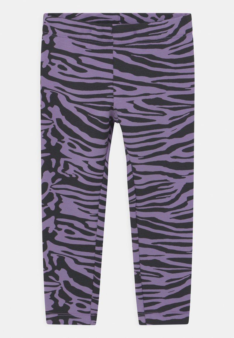 Lindex - MINI AVOCADO UNISEX - Leggings - Trousers - light dusty lilac