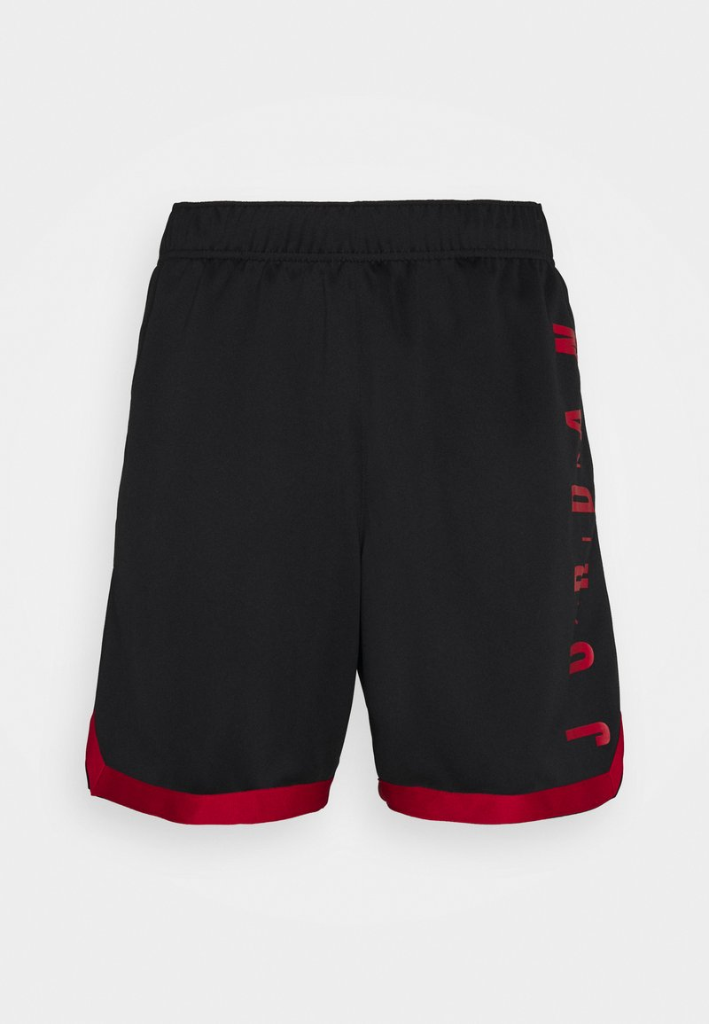 Jordan - JUMPMAN - Shorts - black/gym red