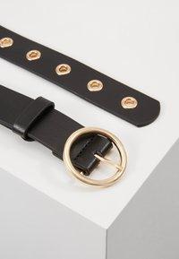 ONLY - ONLMIA EYELET BELT - Belt - black - 3